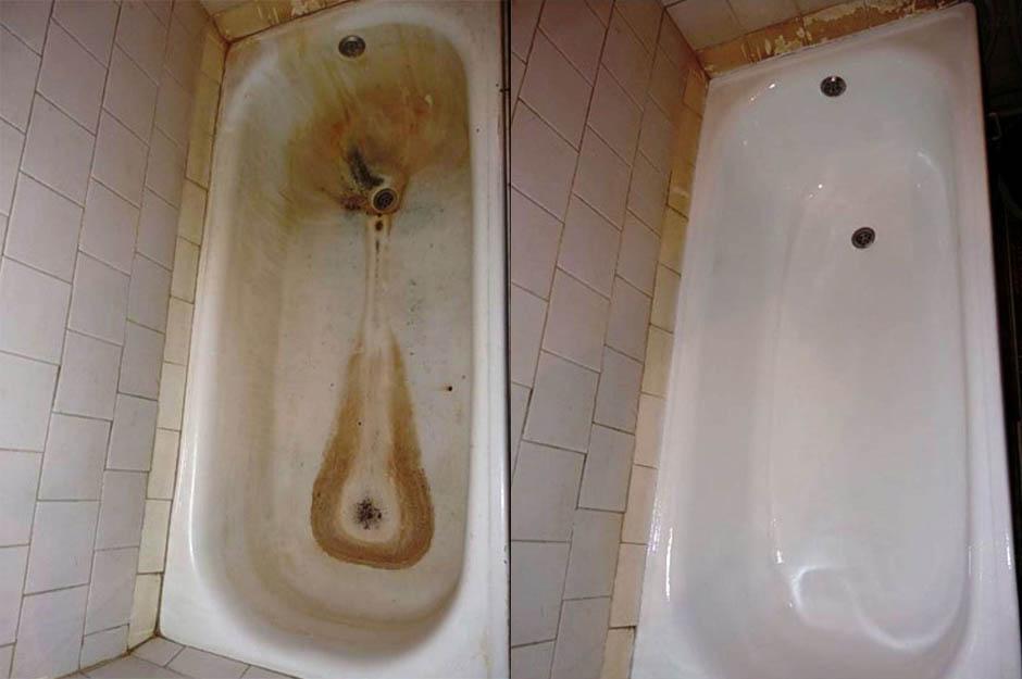 Часто задаваемые вопросы про реставрацию ванн акрилом и эмалью