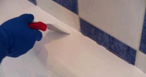 Покрытие чугунной ванны акрилом