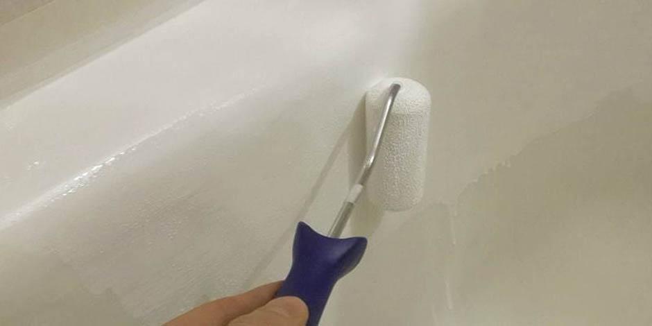 покрыть ванну эмалью в домашних условиях